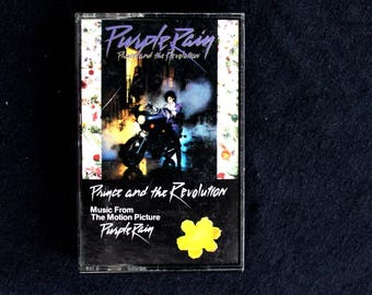 Purple Rain- Prince and the Revolution- Music From The Motion Picture Purple Rain- Cassette Tape 1984