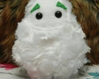 Tiny yeti plush