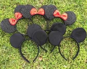 Headband 400 pieces  Sparkly Minnie Mouse Ears Headbands