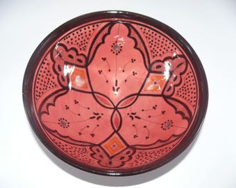 Moroccan Oriental ceramic dish bowl Fruit salad Cereal Ø 25 cm model Shania