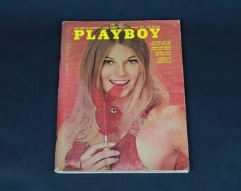 70's Playboy Magazine March 1971