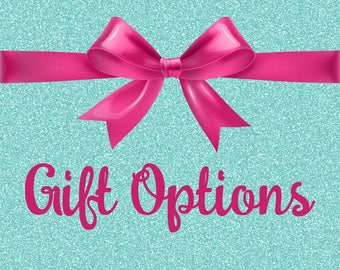 Gift Options-Gift Wrapping, Handwritten Card