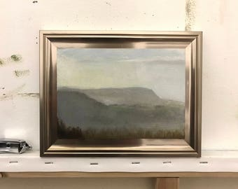 View from Coaley Peak, landscape study.