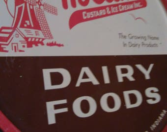 RARE Vintage Holland Dairy Foods serving tray Holland Custards and Ice Cream Inc. Holland Ind. Vintage advertising tray in very good cond.