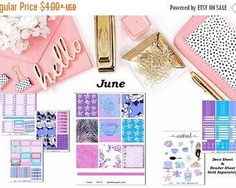 40% Off Sale June, 6 sheet weekly kit//EC//Hp classic, large mini
