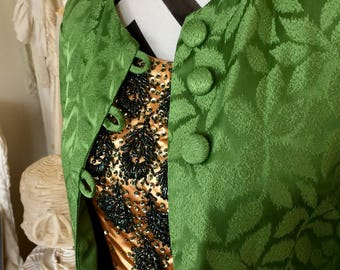 1960's Vintage Parrot Green Jacket