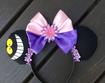 Cheshire Cat Mouse Ears  Alice in wonderland