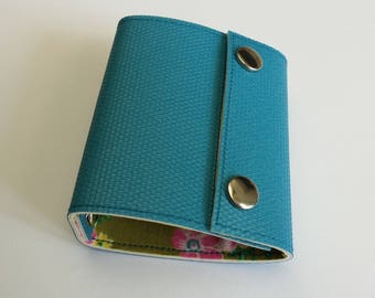 Recycled - Card holder recycled linoleum blue n 37