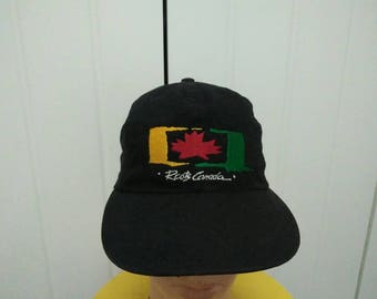 Rare Vintage ROOTS CANADA Cap Hat Free size fit all