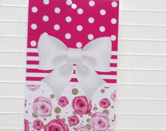 100 PRICE TAGS HANG Tags Retail Tags Boutique Tags Cute White And Pink Clothing Tags With 100 Plastic Loops