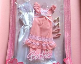 Vintage Barbie clothing.