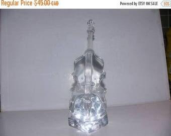 ON SALE Vintage Glass Violin