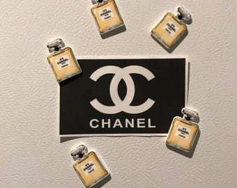 Chanel Perfume Bottle Magnets
