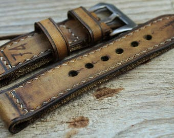 74  strap  custom made for panerai