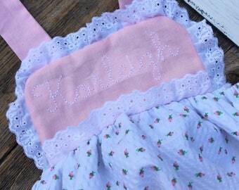rosebud romper, girls rosebud bubble, eyelit romper, vintage inspired outfit
