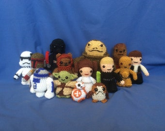 Crochet Star Wars amigurumi