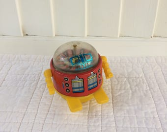 Roulette Robot Tin Toy