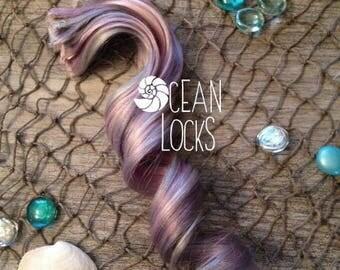 Moonlight Hair Extensions, IN STOCK, Hair extensions clip in, Ombre hair extension, Pastel hair , Grey Hair, Lavender Hair, Silver Hair