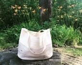 Purple Ombré Tote Bag, Market Bag, Large Beach Bag, Diaper Bag, Grocery Bag, Tote,  Macrame Bag, Rope Bag, Rope Tote