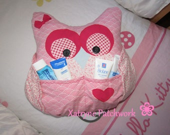 Decorative OWL pillow room baby, girl