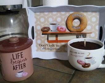 Kaffeine Krazz Coffee Set