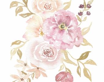 Loose Floral Watercolor