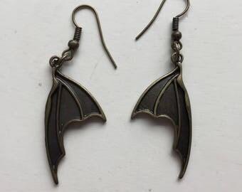 Dragon Bat Wing Earrings