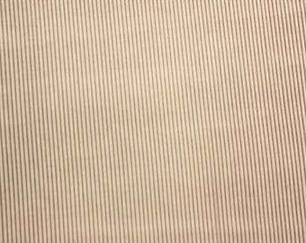 Fine Striped Fabric, Stripes, Grey, Gray, Stripe Fabric, Cotton Fabric, Craft Fabric, Quilting Sewing Craft Supplies, Extra Wide, Half Metre