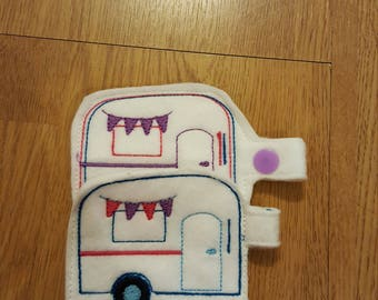 Caravan keyfobs