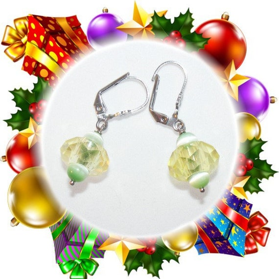 Earrings # unique # tops # rings form # # dollydoo # gift for her Bohemian glass
