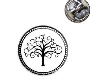 Tree Of Life Lapel Hat Tie Pin Tack