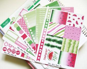Planner Stickers - Hello Summer