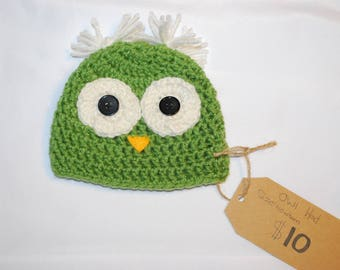 Cute owl hats! (Newborn-Adult)