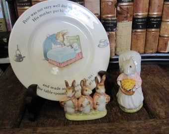 Three Charming Beatrix Potter Collectibles