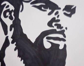 drawing Khal Drogo