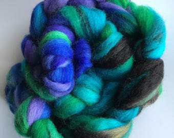 Clun Forest 4 oz. Colorado Grown Indie Dyed Hand Dyed Wool Roving