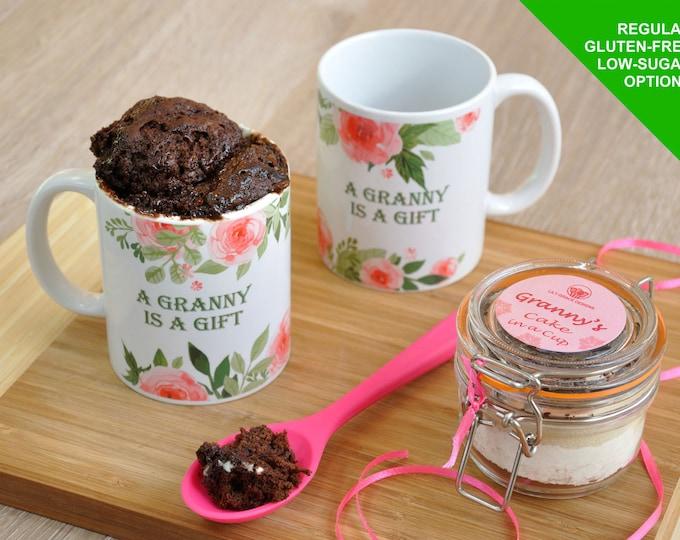 Grannys birthday, granny mothers day, granny gift, granny mug, granny present, granny personalised, baking granny, gift from grandchild,