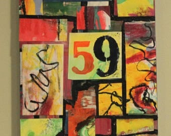 59 Abstract Collage Art