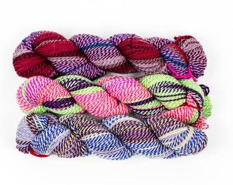 Wool Yarn, Variegated Color