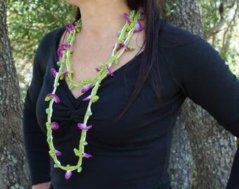 Spring Garland necklace