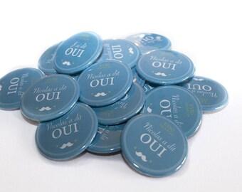 Set of 20 badges pins for EVJG