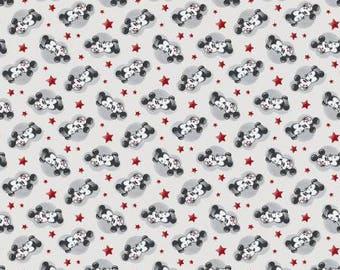 Disney Mickey & Minnie True Love Knit by Springs Creative - cotton spandex 4 way 50% stretch 65219A620710