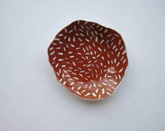 Dapple // clay bowl
