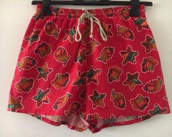 Swimwear Shorts Vintage 90s Size L