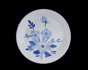 "Blue Ridge Southern Pottery BLUE MOON 10.25"" Dinner Plate Vintage Southern Potteries Candlewick Dinnerware Excellent! (B02) 7500"