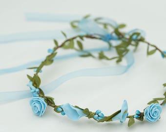 Wreath shaped Turquoise