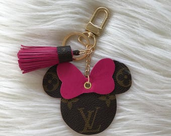 Hot Pink Minnie Mouse  Charm