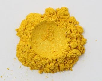Golden Yellow Cosmetic Grade Mica - 10g