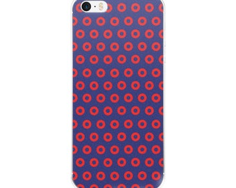 Phish Donuts iPhone Case