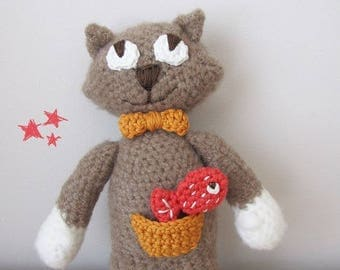 Child's plush - Pablo the Pussycat